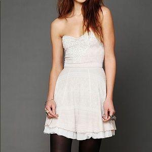 Free People NWT Twinkle & Twirl Mini Dress